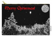 Winter's Night Carry-all Pouch