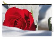 Winters Rose Carry-all Pouch