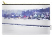 Wintertime At The Fairmount Dam And Boathouse Row Carry-all Pouch