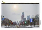 Wintertime - Benjamin Franklin Parkway Carry-all Pouch