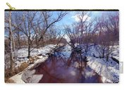 Wintertime In Necedah  Carry-all Pouch