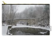 Wintertime In The Wissahickon Valley Carry-all Pouch