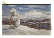 Wintry Landscape Carry-all Pouch