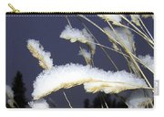 Wintry Wild Oats Carry-all Pouch