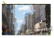 Wisconsin Ave Cubist Carry-all Pouch