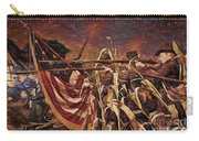 Wisconsin Black Hats At Antietam - Colored Pencil Carry-all Pouch
