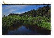 Wisconsin River In Vilas County Carry-all Pouch