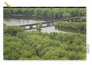 Wisconsin River Overlook 2 Carry-all Pouch