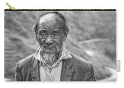 Wisdom - A Year Later Bw Carry-all Pouch