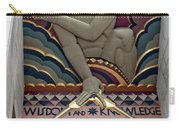 Wisdom Lords Over Rockefeller Center Carry-all Pouch