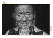 Wisdom Monochrome Carry-all Pouch