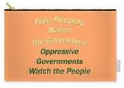 Wise Sayings About Government 5004.02 Carry-all Pouch
