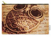 Wise Words And Keepsakes Carry-all Pouch
