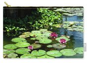 Wishes Among The Water Lilies Carry-all Pouch