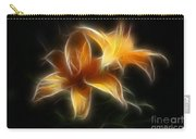 Wispy Lilies Carry-all Pouch