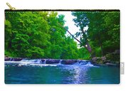 Wissahickon Waterfall Carry-all Pouch by Bill Cannon