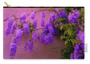 Wisteria At Sunset Carry-all Pouch