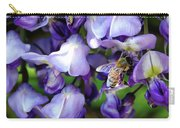 Wisteria Bee Carry-all Pouch