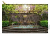 Wisteria Blooming On Trellis At Garden Patio Carry-all Pouch
