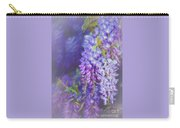 Wisteria Elegance By Kaye Menner Carry-all Pouch