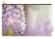 Wisteria Flowers In Sunlight Carry-all Pouch