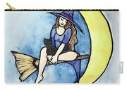 Witch And Moon Carry-all Pouch