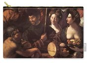 Witchcraft Allegory Of Hercules 1535 Carry-all Pouch