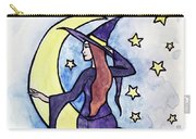 Witchy Moon Carry-all Pouch
