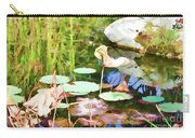 Withered Lotus In The Pond 2 Carry-all Pouch