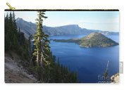 Wizard Island On Crater Lake Carry-all Pouch