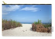 Wladyslawowo White Sand Beach At Baltic Sea Carry-all Pouch