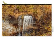 Wolcott Falls Ledge Carry-all Pouch by William Norton