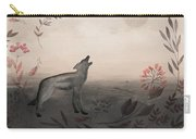 Wolf At Twilight Carry-all Pouch