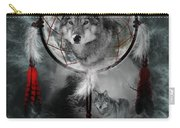 Wolf Dreamcatcher Carry-all Pouch