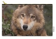 Wolf Face Carry-all Pouch