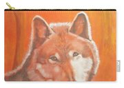 Wolf Home Burning Carry-all Pouch