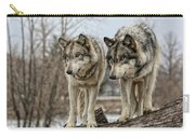 Wolf Pair Carry-all Pouch