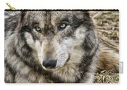 Wolf Portrait Carry-all Pouch