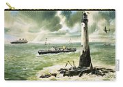 Wolf Rock Lighthouse At Land's End Carry-all Pouch