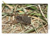 Wolf Spider With Babies Carry-all Pouch