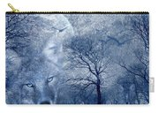 Wolf Carry-all Pouch by Svetlana Sewell