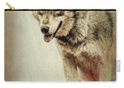 Wolf Wonder Carry-all Pouch