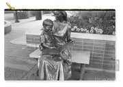 Woman And Child Sculpture Grand Junction Co Carry-all Pouch