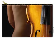 Woman And Violin Carry-all Pouch