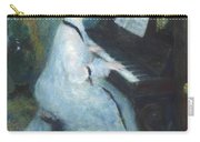 Woman At The Piano Carry-all Pouch