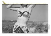 Woman In Bikini, C.1950s Carry-all Pouch