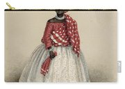 Woman In Koto Misi, Jacob Marius Adrian Martini Geffen, 1860 Carry-all Pouch