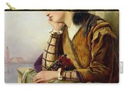 Woman In Love Carry-all Pouch by Henry Nelson O Neil