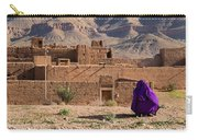 Woman In Purple Carry-all Pouch