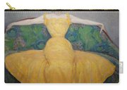 Woman In A Yellow Dress Carry-all Pouch